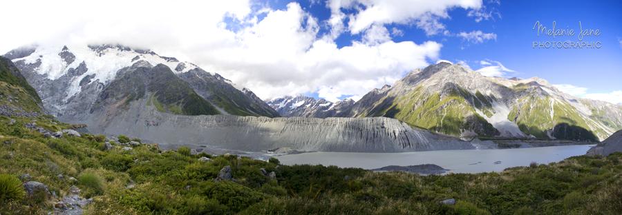 Mueller Glacier Pano