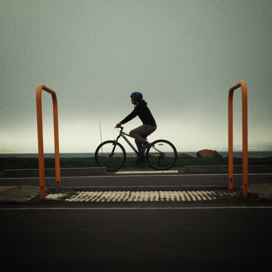 4:20pm Misty cycleway