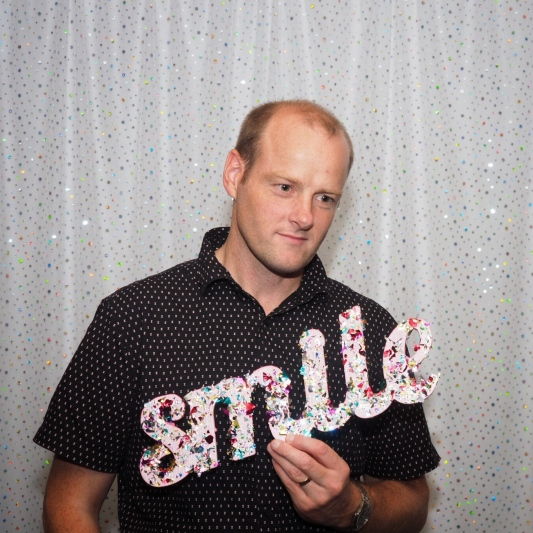 8:30pm Smile, it's a party!